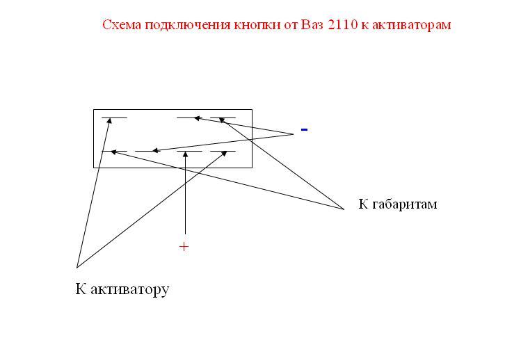 Форум о тюнинге ВАЗ-2107 - Показать сообщение отдельно - Как подключить активаторы задних дверей?